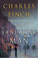 The Vanishing Man by Charles Finch book cover and review