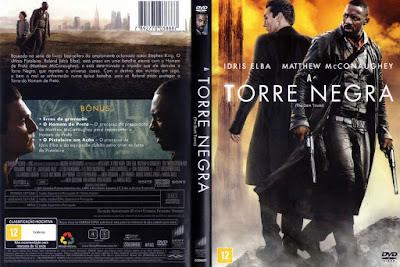 Filme A Torre Negra (The Dark Tower) DVD Capa