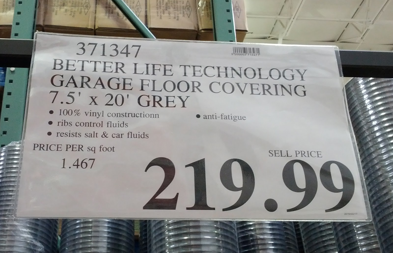 Better Life Technology G Floor Garage Flooring Covering Costco Weekender