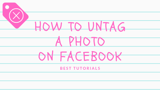 Facebook Untag Photo