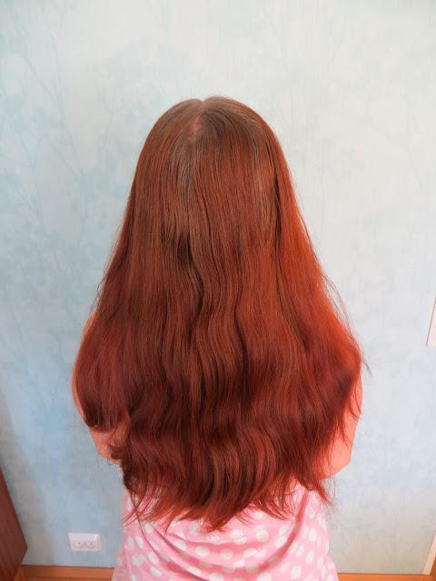 hiusten hennaus