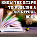 Know the Steps to publish a spiritual book