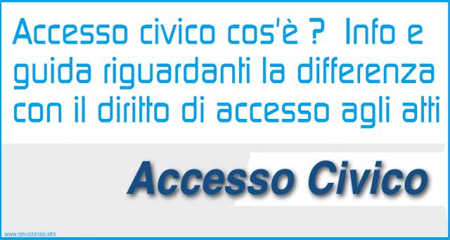 accesso-civico-cose-differenza