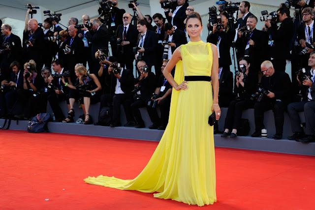 Full HQ Photos of 'Il Traduttore' actress Anna Safroncik At La La Land Premiere At 2016 Venice Film Festival 2016