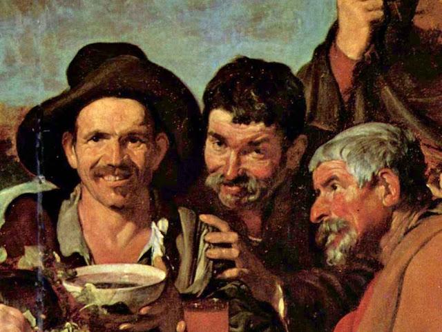 A Festa de Baco, Diego Velázquez  (c.1628-9)