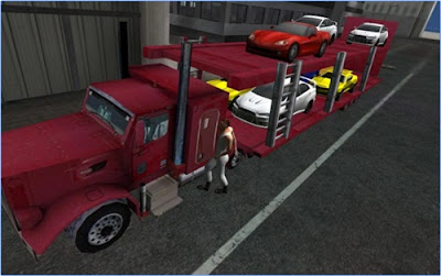 game car transporter 3d truck simulator