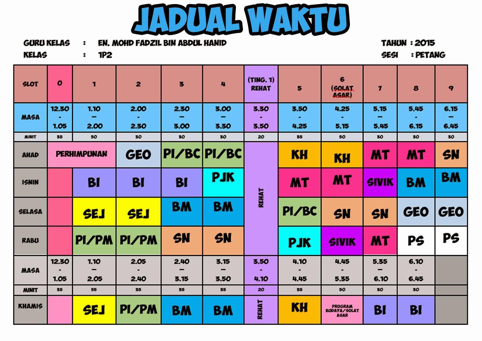 Design Untuk Kelas 2015 Cikgu Fadzil