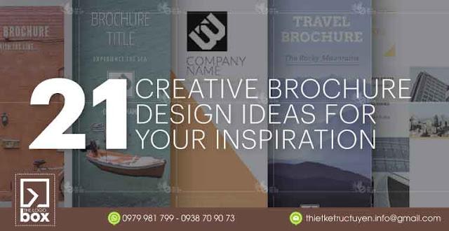 21 ý tưởng thiết kế brochure tạo cảm hứng (Phần 1)