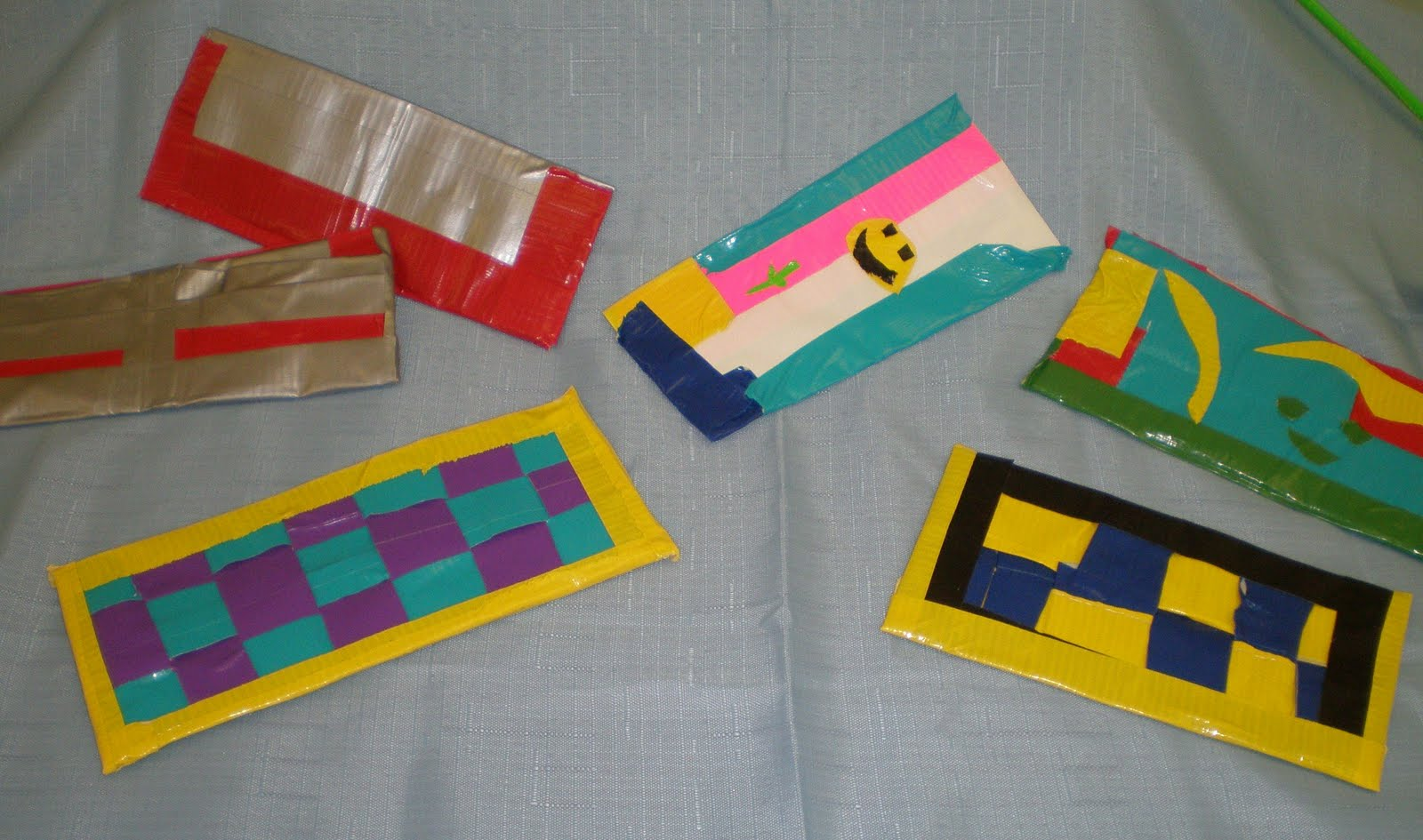 Diary of a Homeschool Mom: Fun Duct Tape Creations |Duct Tape Creations