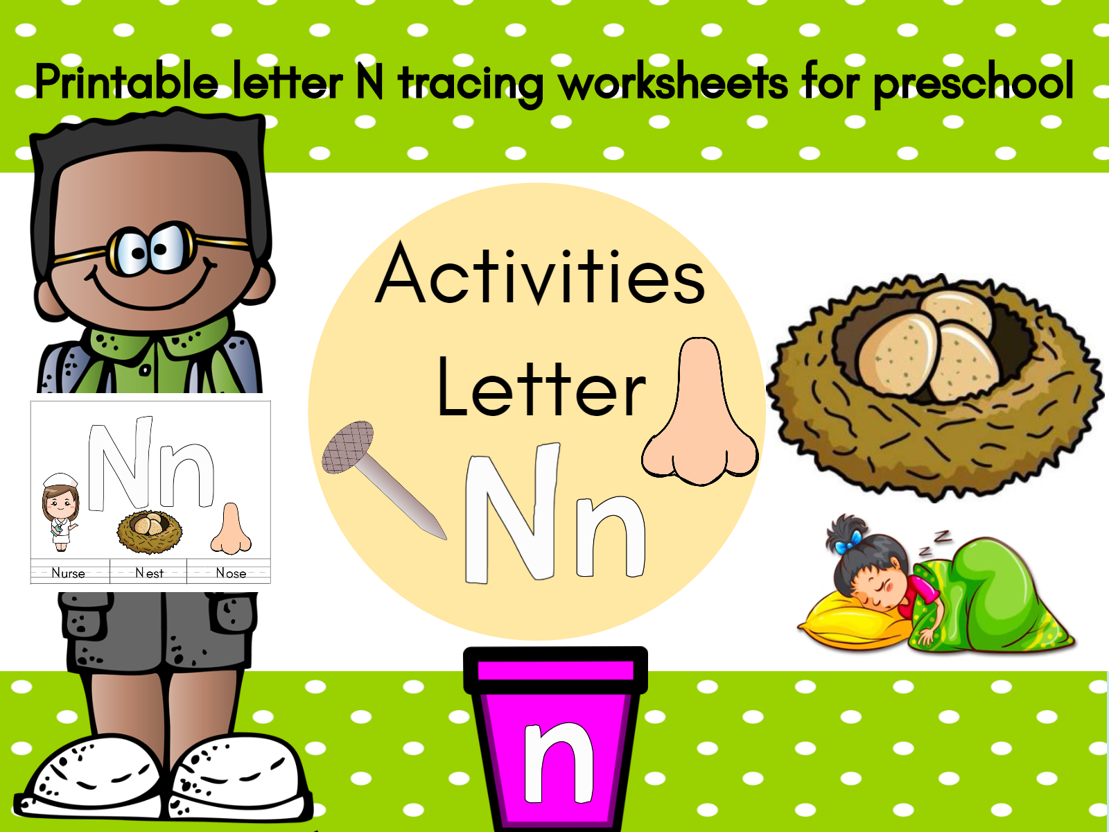 Letter N Song For Kids Words That Start With 12