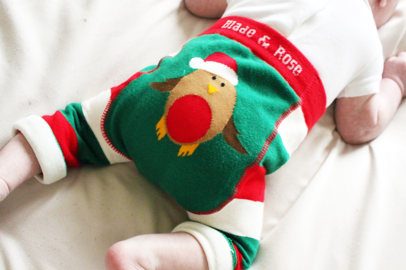 Little Chickie Newborn Christmas Clothes First Xmas Festive Leggings
