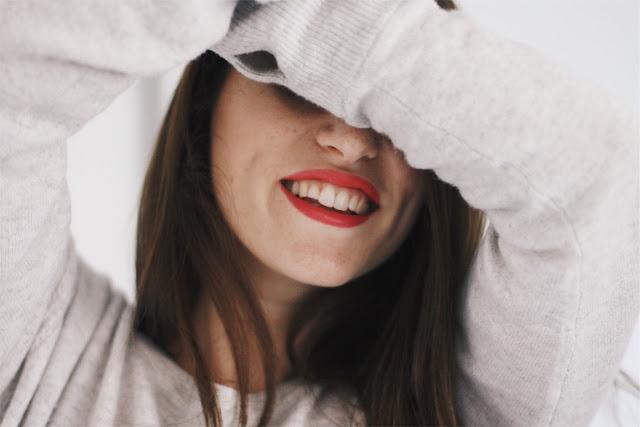 autoportrait sourire