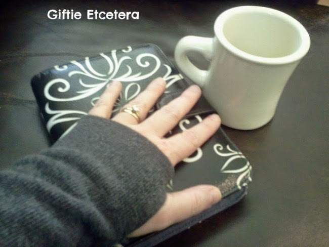 planner, coffee cup, giftie