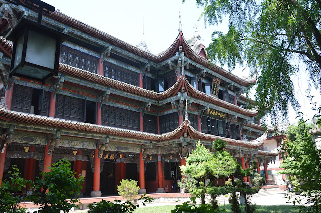 Temple Wushu de Chengdu