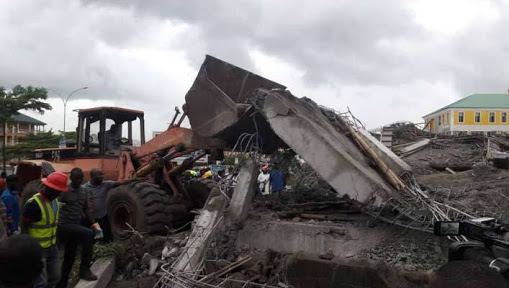 Two Dead, 20 Trapped As Building Collapsed In Abuja
