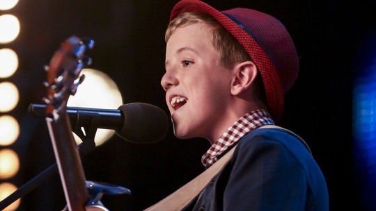 Awesome Song Written And Sung by 12 years Henry Gallagher on Britain's Got Talent (BGT)