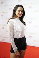Pragya Jaiswal in lovely Black Mini Skirt and White Transparent Shirt ~  Exclusive 011.JPG