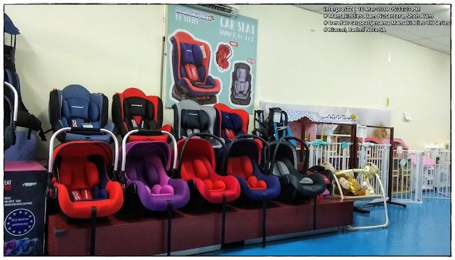 gambar car seat kerusi bayi dalam kereta jenama Mamakiddies