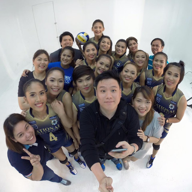 A photo of NU Lady Bulldogs Volleyball Team