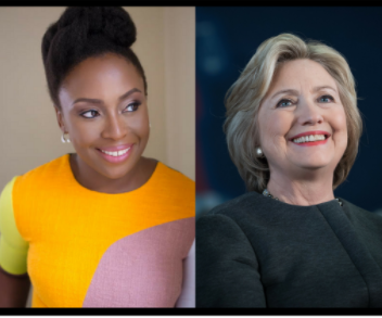 "Nigeria Writer, Chimamanda Ngozi Adichie confronts Hillary Clinton on why her Twitter bio leads with ""wife"""
