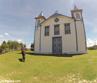 Igreja em São Gonçalo do Rio das Pedras/MG.