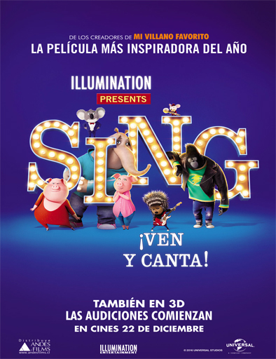 Ver Sing: ¡Ven y canta! (2016) Online