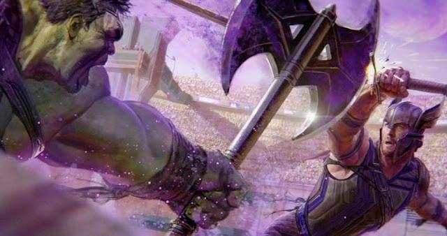 Imágenes concept art de la película Thor: Ragnarok