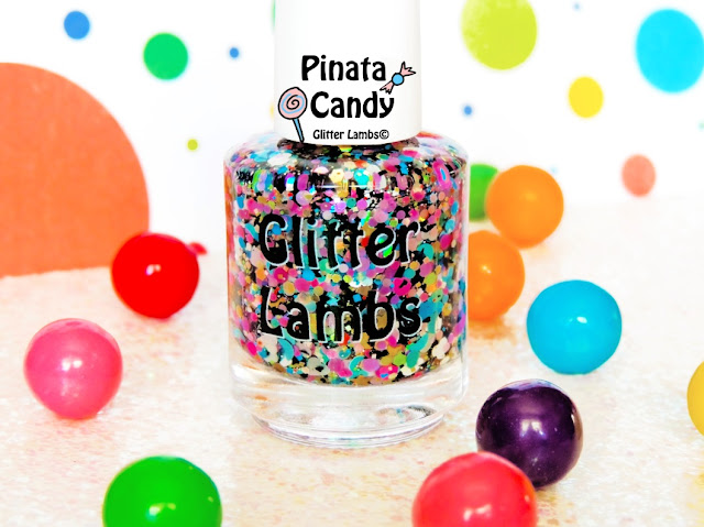 Custom Handmade Lacquer Indie Nail Polish Franken Polish Shapes Moons Stars Hearts Hex Holographic
