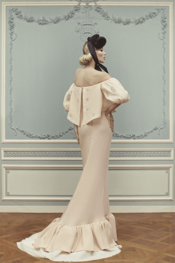 Ulyana Sergeenko Haute Couture Spring-Summer 2013 photography by Nick Sushkevich