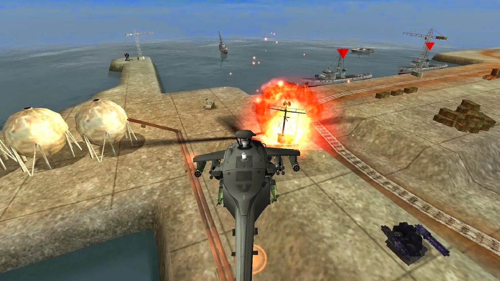 GUNSHIP BATTLE: Helicopter 3D v1.2.8 Full Apk Mod Unlimited Money Free Download