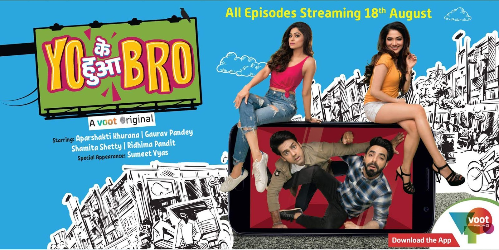 'Yo Ke Hua Bro' Web Series on VOOT and YouTube Plot Wiki,Cast,Image