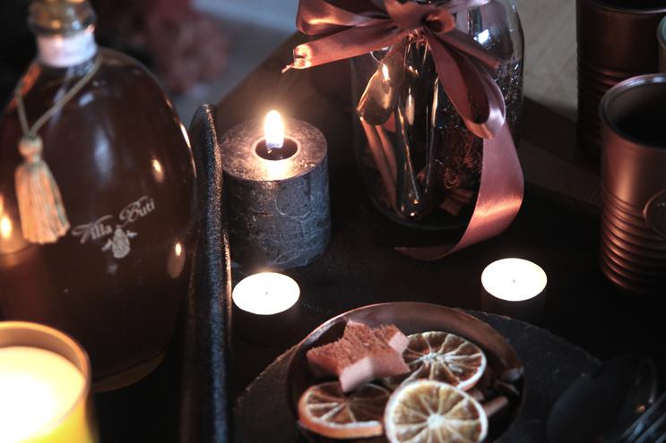 Christmas 2016 candles and home decor