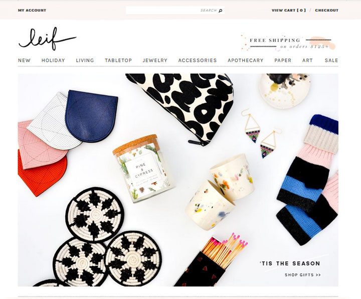 Contoh Kedai Online Menerusi Shopify