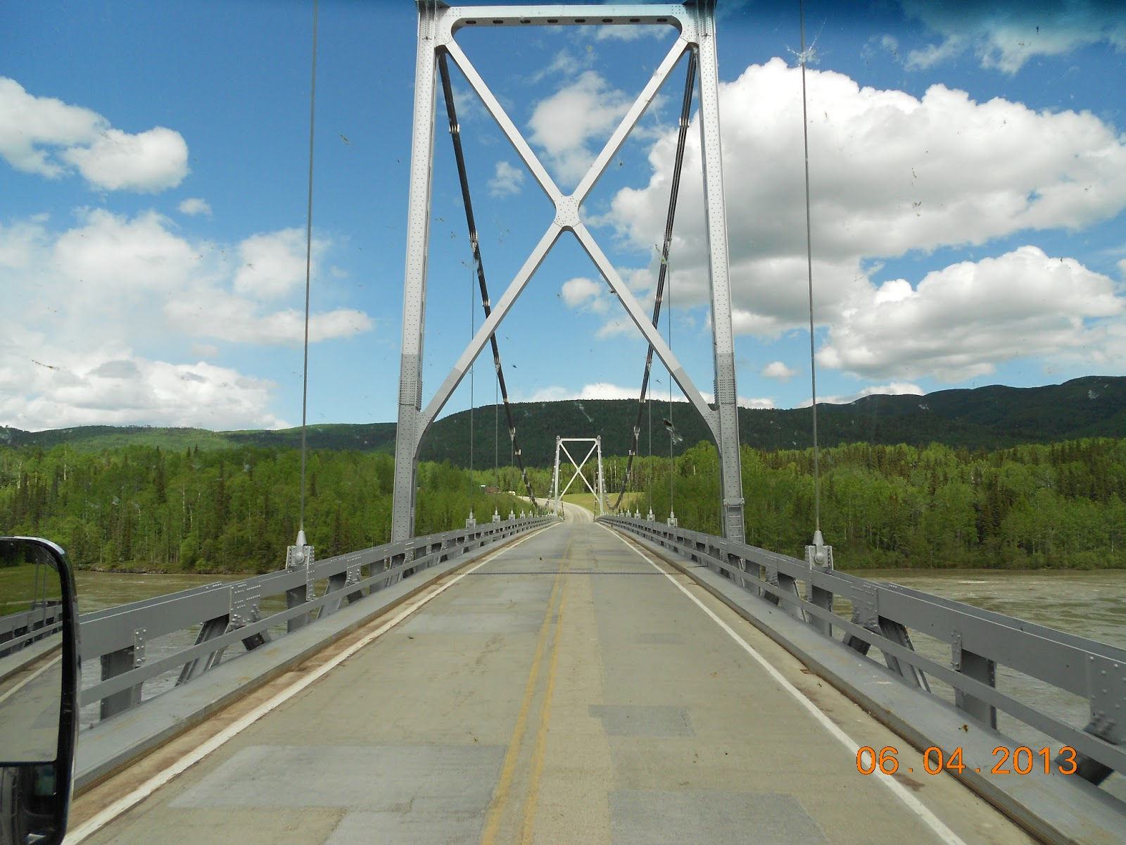By Chance Fort Nelson Bc To Liard Hot Springs Bc
