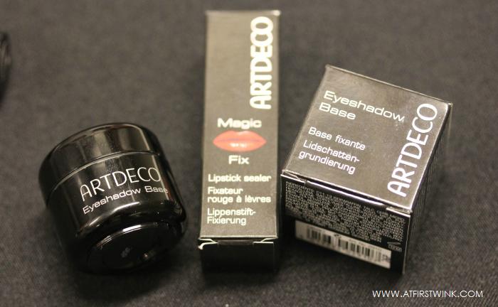 ARTDECO eyeshadow base and lipstick sealer