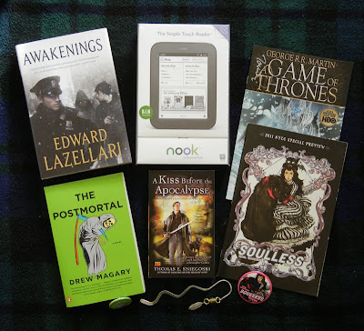 2011 Blogversary Giveaways - The Winners