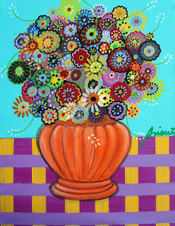 Whimsical painting by Whimsical Artist Pristine Turkus