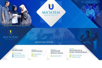 Masoem University: Melahirkan Lulusan Hebat Menyongsong Indonesia Maju