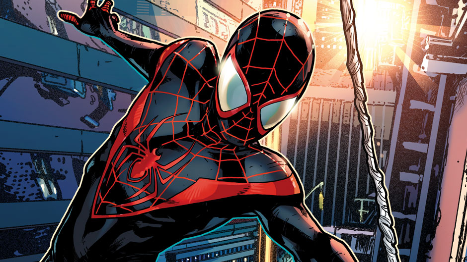 Miles Morales The Animated 'Spider-Man' Movie First Poster Revealed.