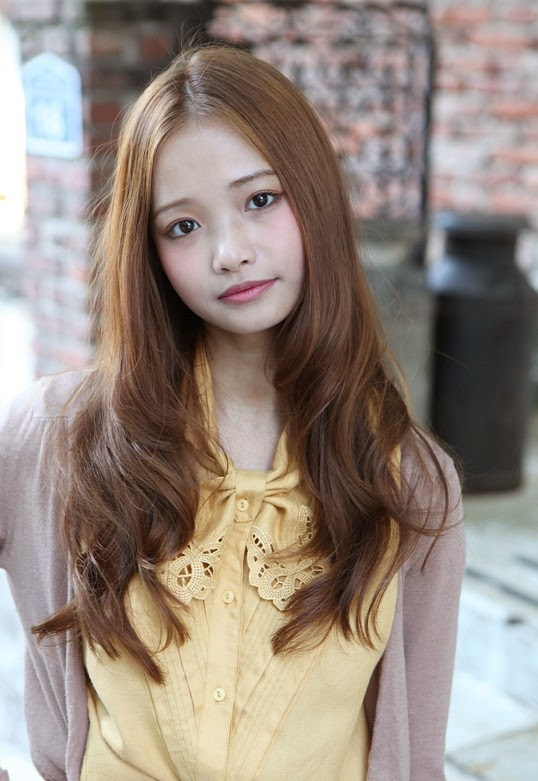 Cute asian hairstyle for girls