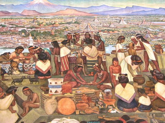Trading system of the aztecs