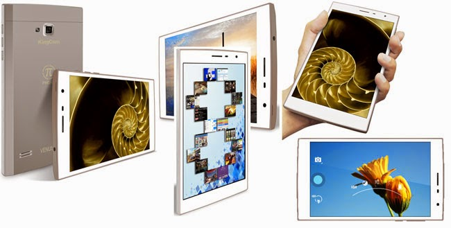 KingCom Releases KingCom Venus Octacore Phablet Full Specifications and Review