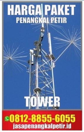 jual penangkal petir tower,harga penangkal petir tower, anti petir tower, harga paket penangkal petir