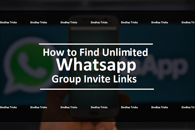How to Find Unlimited Whatsapp Group Invite Links