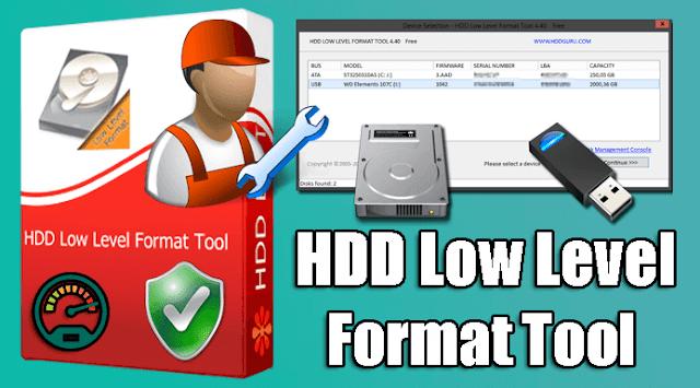 تحميل برنامج HDD Low Level Format Tool لاصلاح الفلاش ميمورى + التفعيل