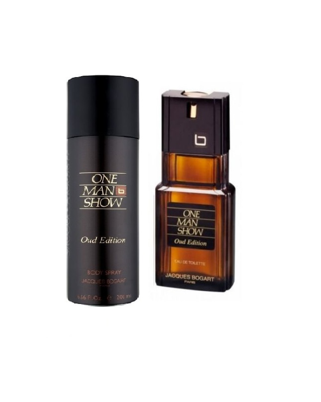 Pack Of 2 - One Man Show Oud Edition Body Spray And Perfume 300 ml