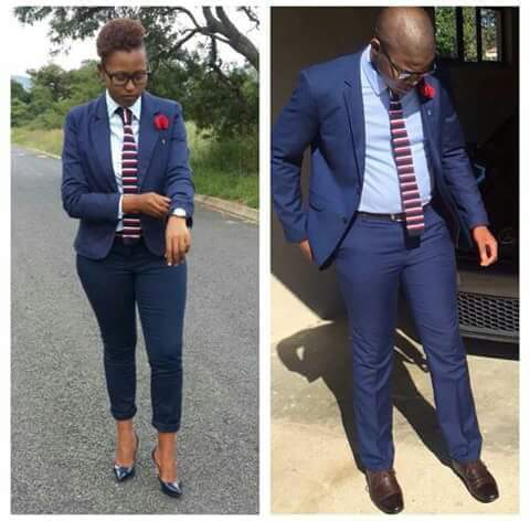 between the male and female who rock it better. let your vote count.