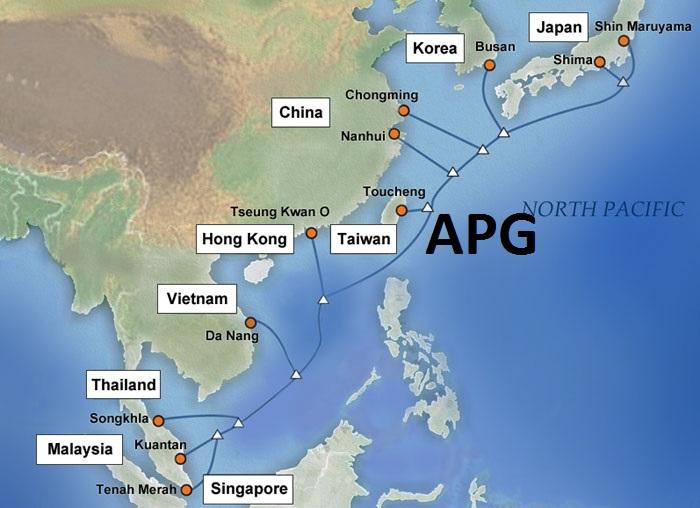 Giữa tháng 7 mới khắc phục xong sự cố cáp quang biển APG