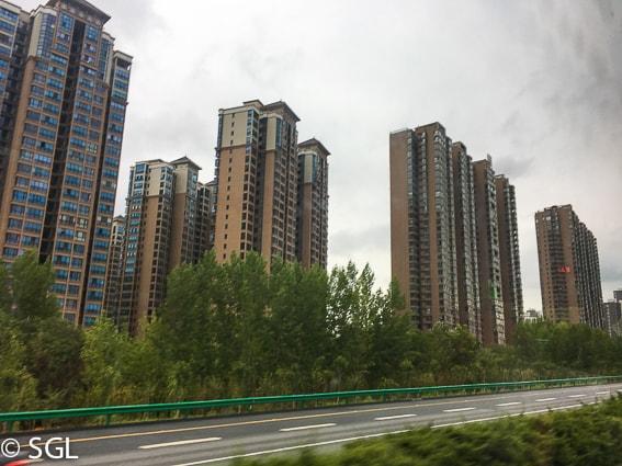 Rascacielos de Xian. Los guerreros de terracota