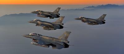 «Ένα ελληνικό F-16 έκανε εικονικό βομβαρδισμό του αλβανικού εδάφους» λένε οι Αλβανοί